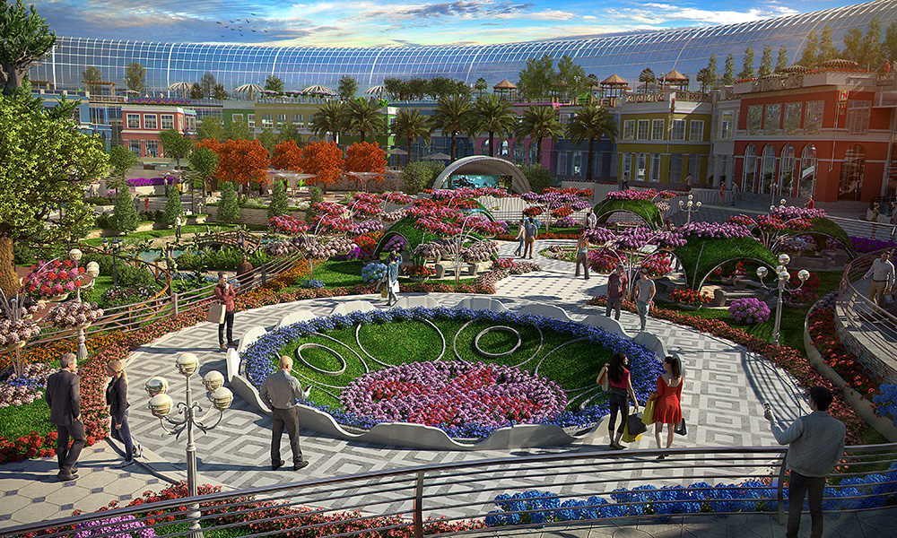 Cityland Mall's Central Park